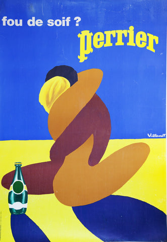 Perrier Embrace by Villemot