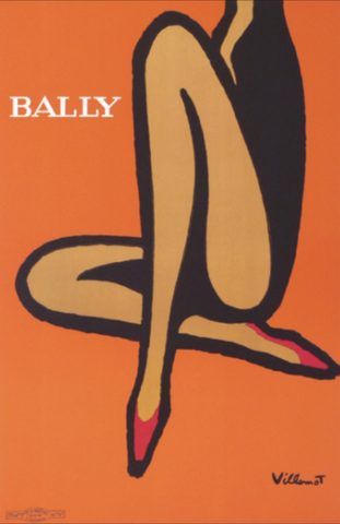 Bally Orange by Villemot