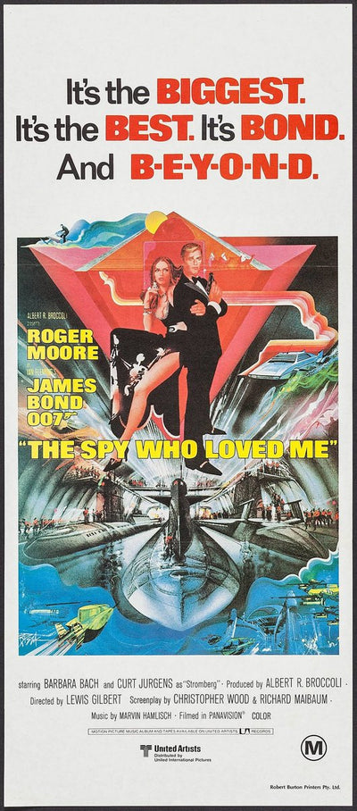 The Spy Who Loved Me Original Bond Poster