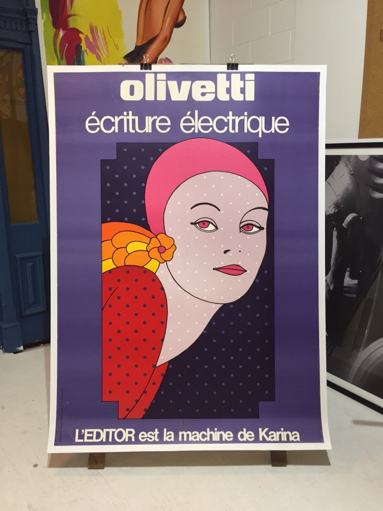 Olivetti Purple