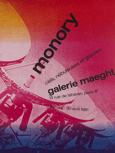 Monory, Galerie Maeght by Jacques Monory