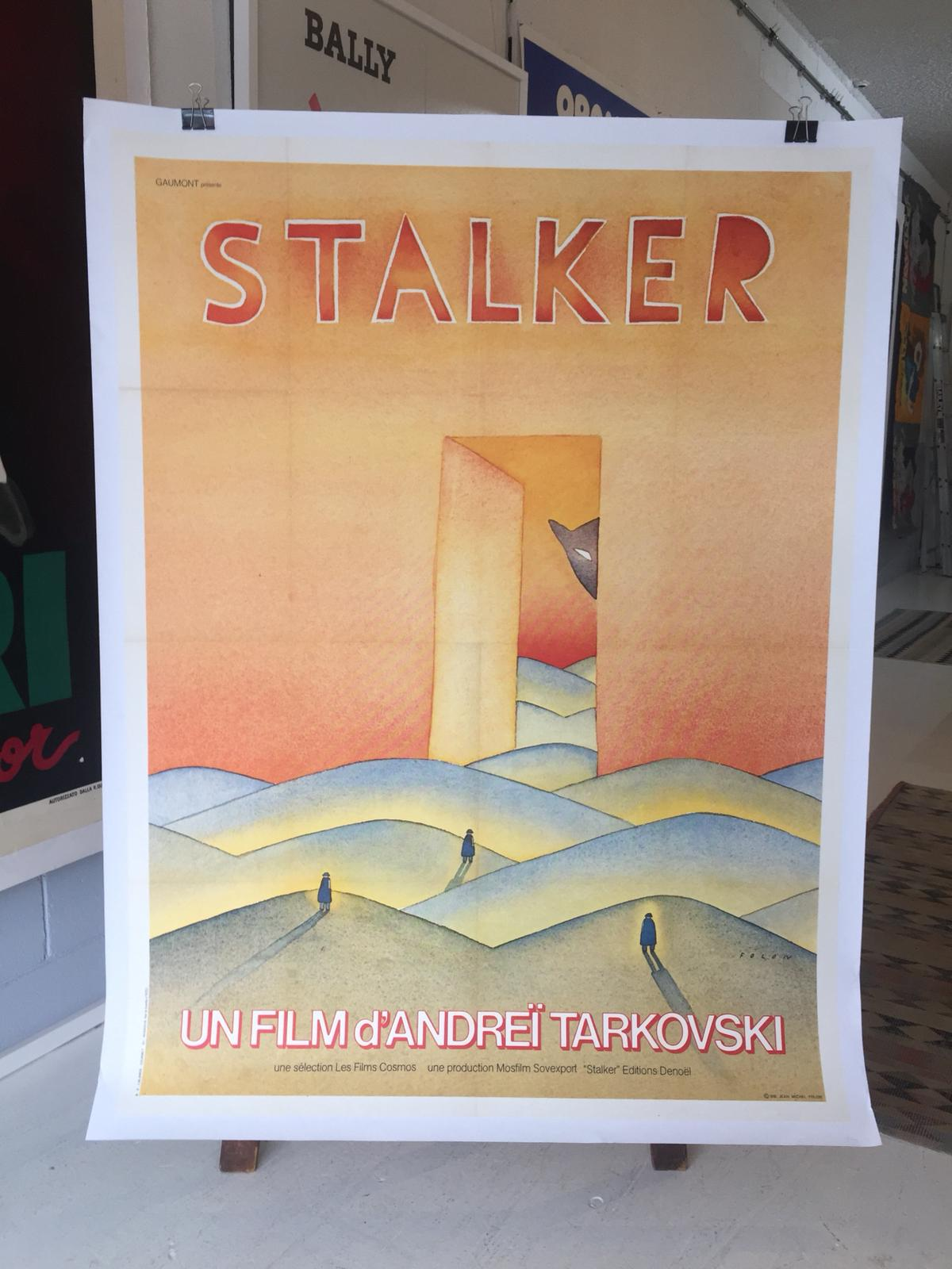 Stalker Original Movie Poster