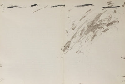 Monotype (series) by Antoni Tapies