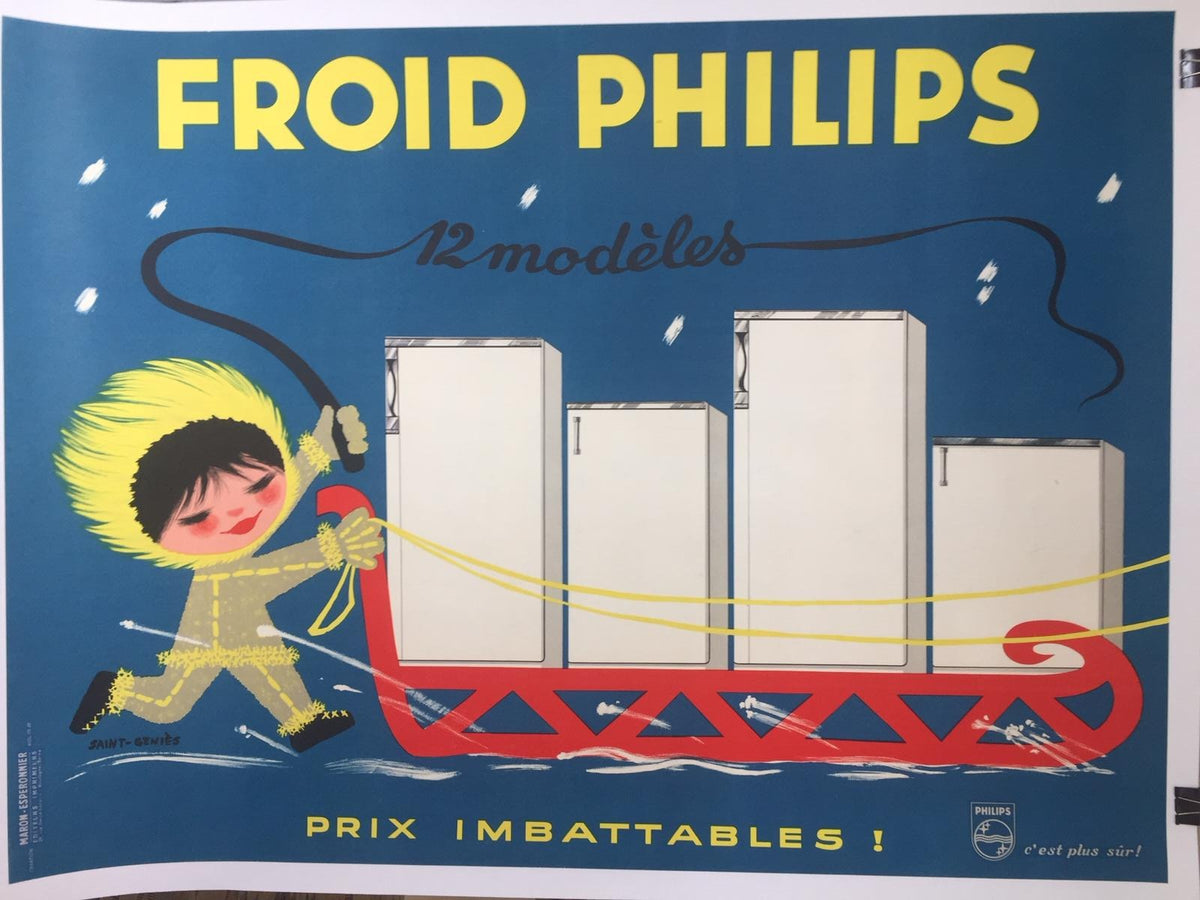 Froid Philips Fridges by Saint-Genies