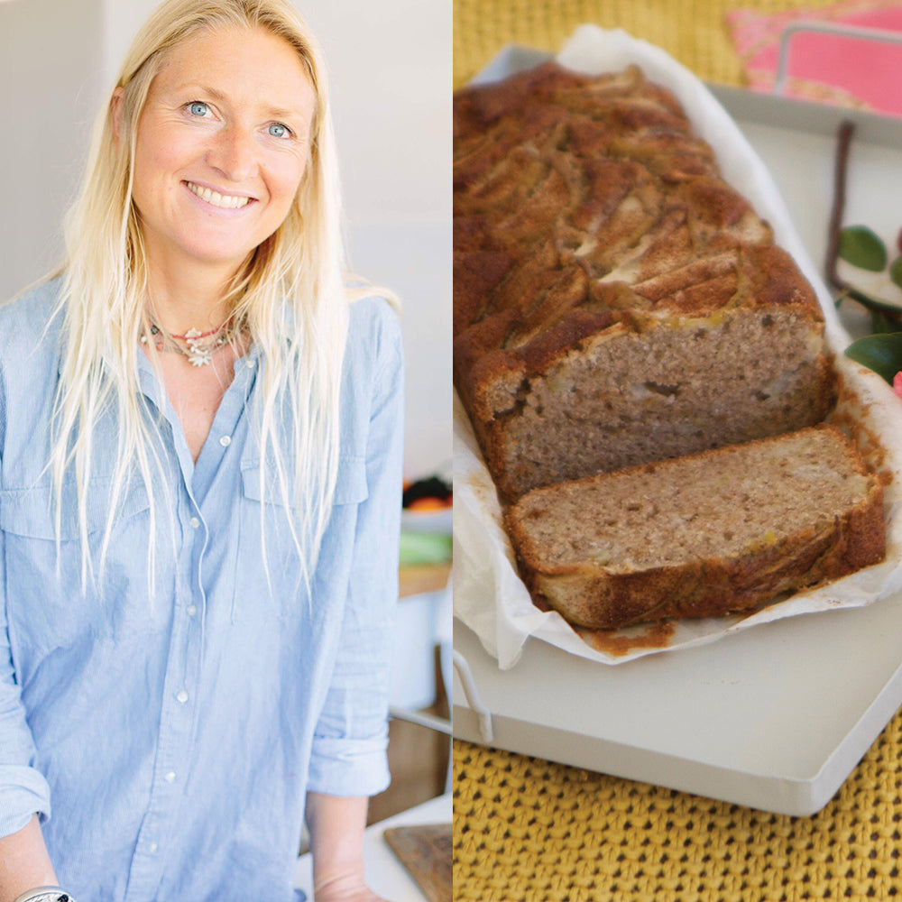 TREAT YOUR MUM - SPICED PEAR LOAF RECIPE BY REBECCA MORGAN JONES