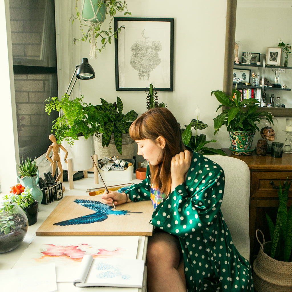Inside the mind of artist Lilly Perrott