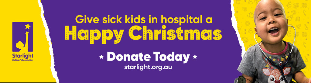 Help Christmas Shine Bright With Starlight Children's Foundation