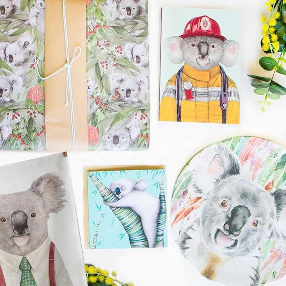 Gift ideas: Koala gifts to send overseas
