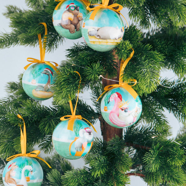 baubles and ornaments