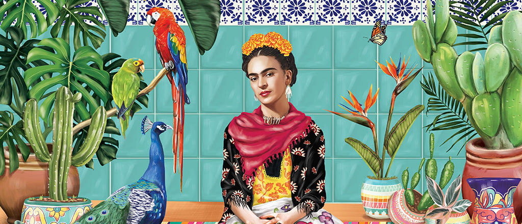 Artwork of Frida Kahlo