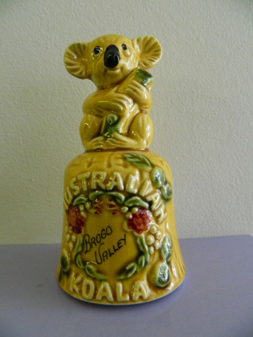 Koala collectables: Brogo Valley souvenir