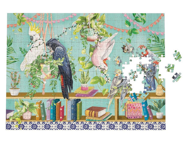 Tropical abode puzzle