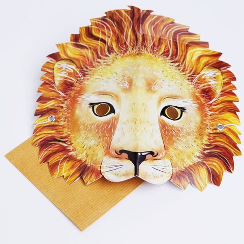 Mask Card Lion