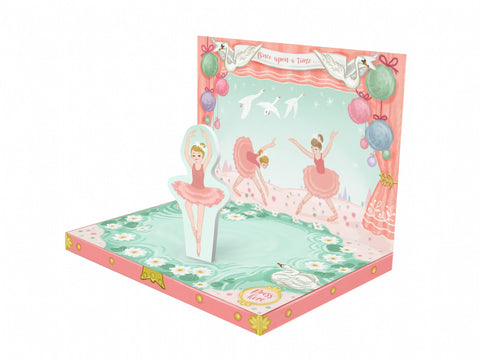 Music Box Card Ballerina Dream