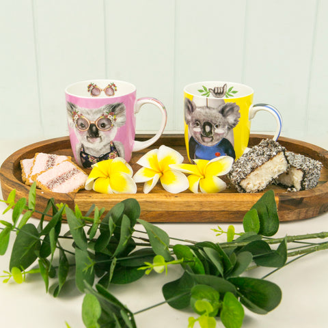 Gift Set Aussie Koala Mugs for Two