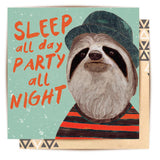 Greeting Card SLOTH