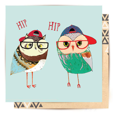 Greeting Card Hip Hip Hooray