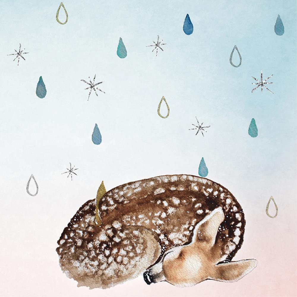 Greeting Card Sleeping Deer