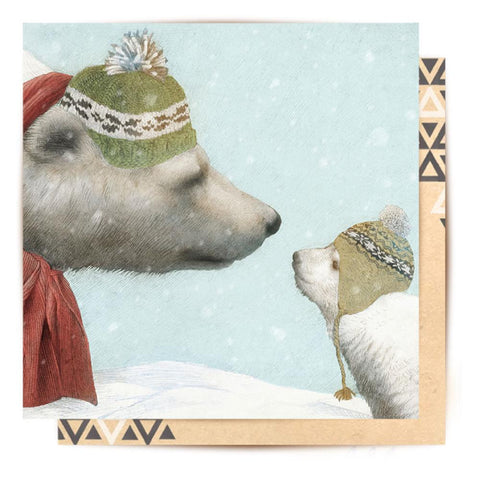 Greeting Card First Winter