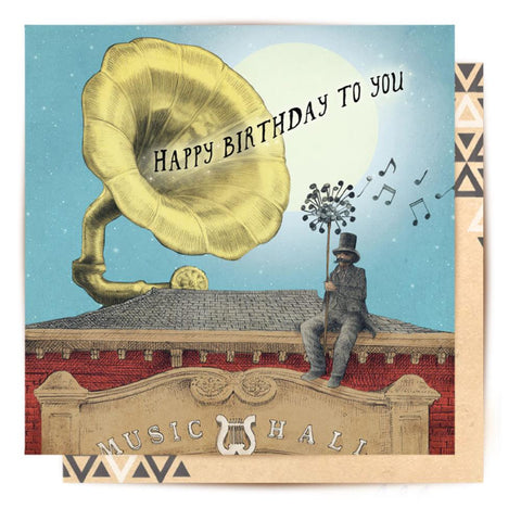 Greeting Card Music Hall