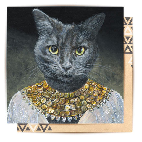 Greeting Card Cleopatra