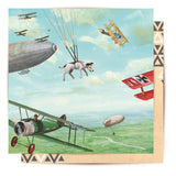 Greeting Card Flying Adventure