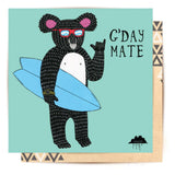 Greeting Card Rod The Koala