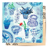 Greeting Card Blue Collection