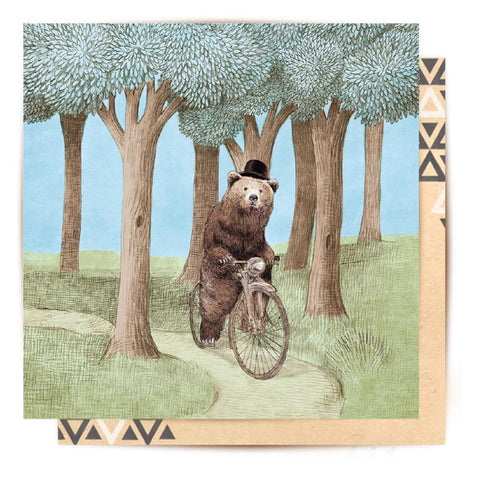 Mini Card Barnabus In The Forest