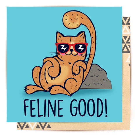 Mini Card Feline Good