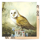 Mini Card The Young Owl