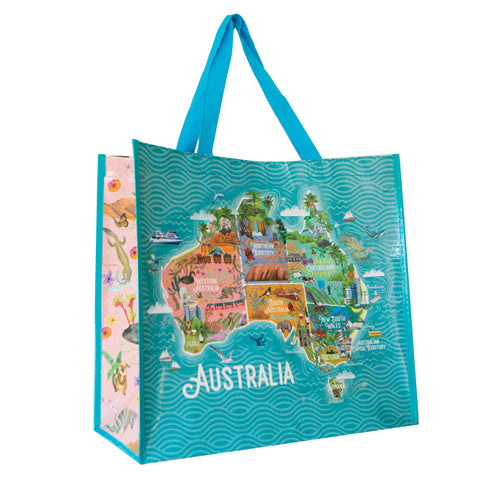 Market Bag  Map of Australia
