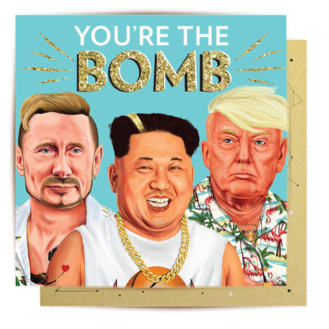 Greeting Card You're The Bomb
