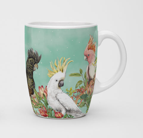 Mug Cockatoos Of Australia