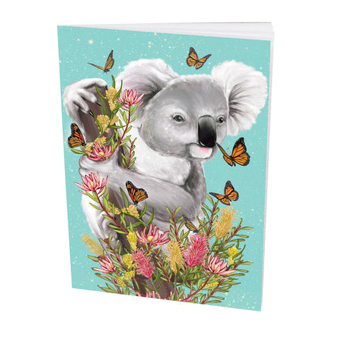 Pocket Book Butterfly Koala