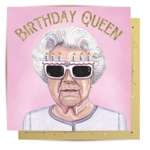 Mini Card Birthday Queen