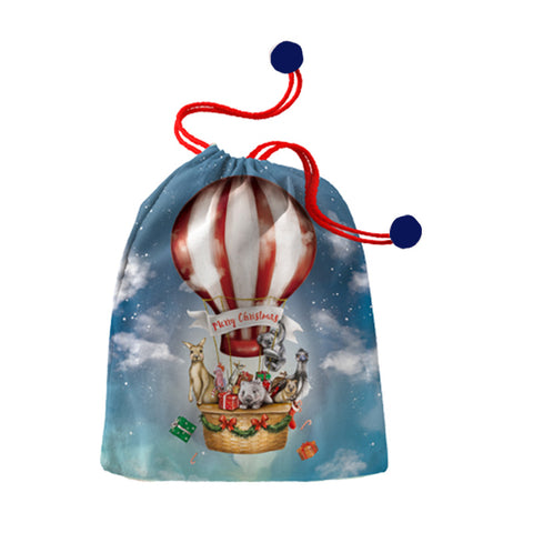 Santa Sack Hot Air Balloon Christmas