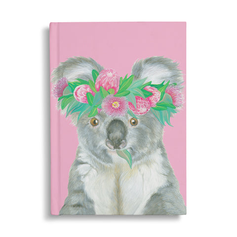 Hard Cover Notebook Flora Explorer