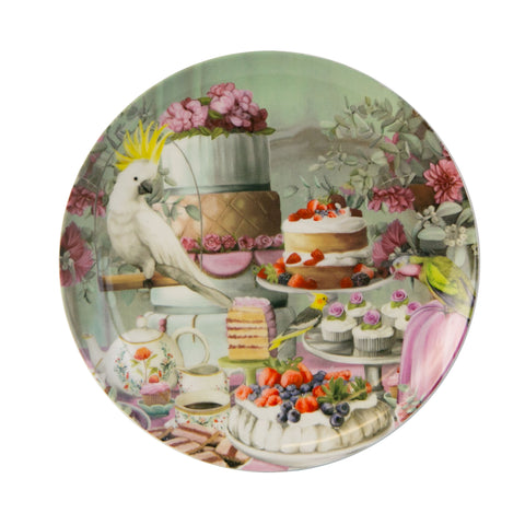 Ceramic Plate Lavish Tea Party
