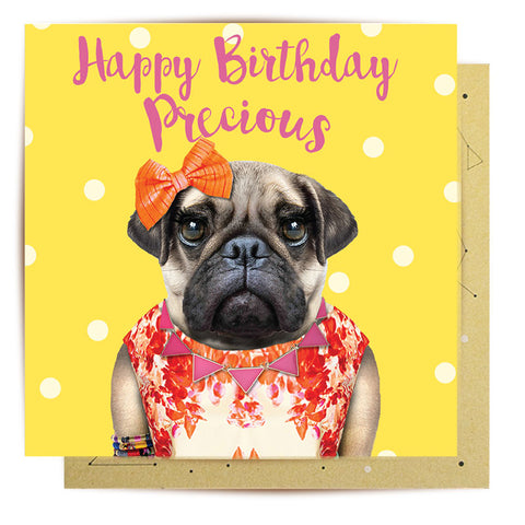 Mini Card Happy Birthday Precious