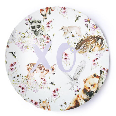Single Plate Woodland Animals