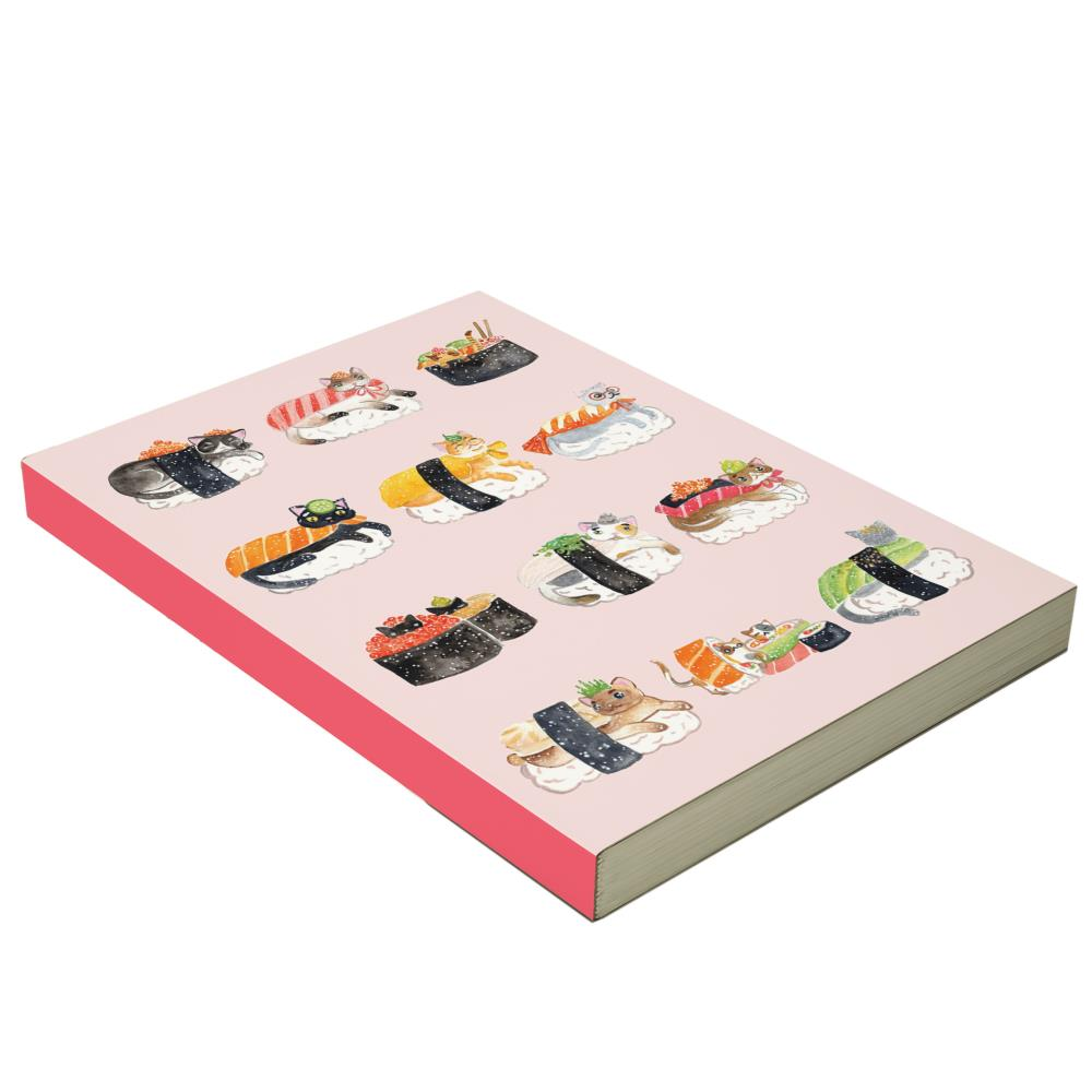 Notebook Sushi Cats