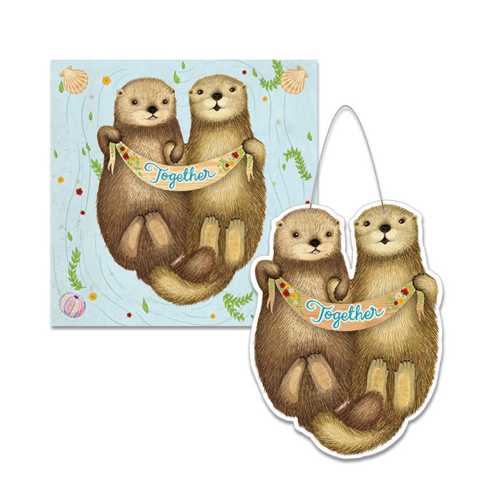 Keepsake Card Otters Together