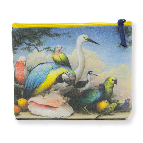 Purse Clutch Allegorical Birds