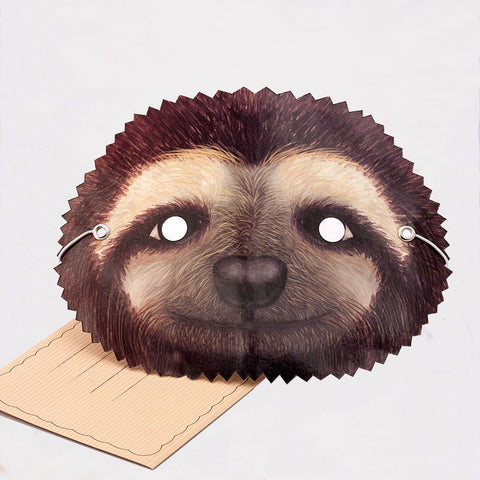 Mask Card Sloth