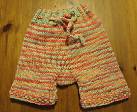 Wool shorties for cloth nappies
