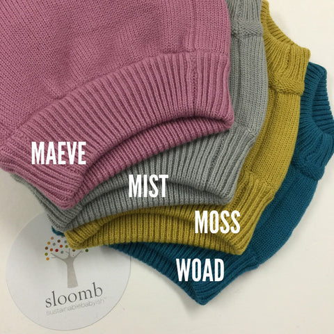 Sustainable Babyish Underwoolies