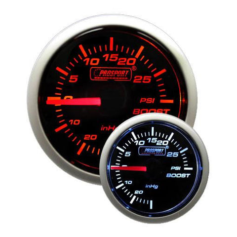 Prosport Premium Peak/Warning 52mm Gauges