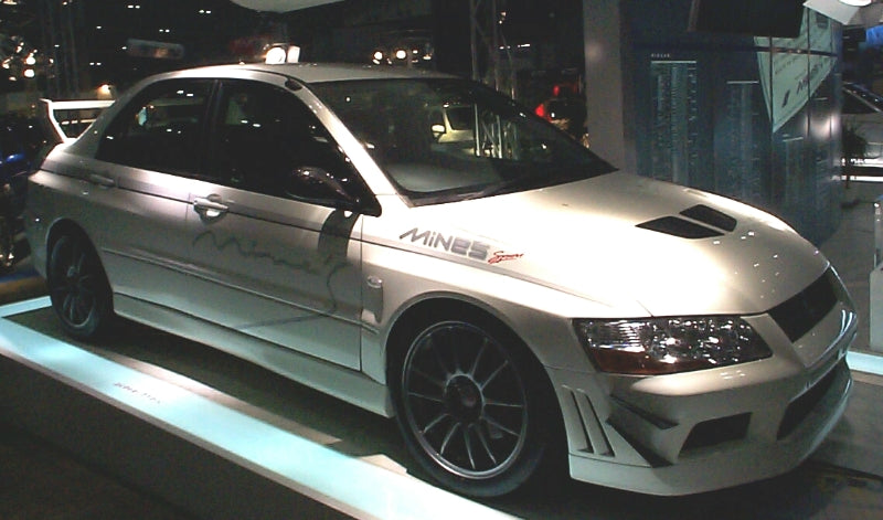 Mine's Evo Front Side