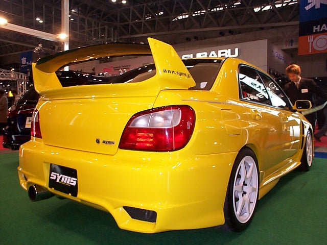 Syms WRX (rear view)